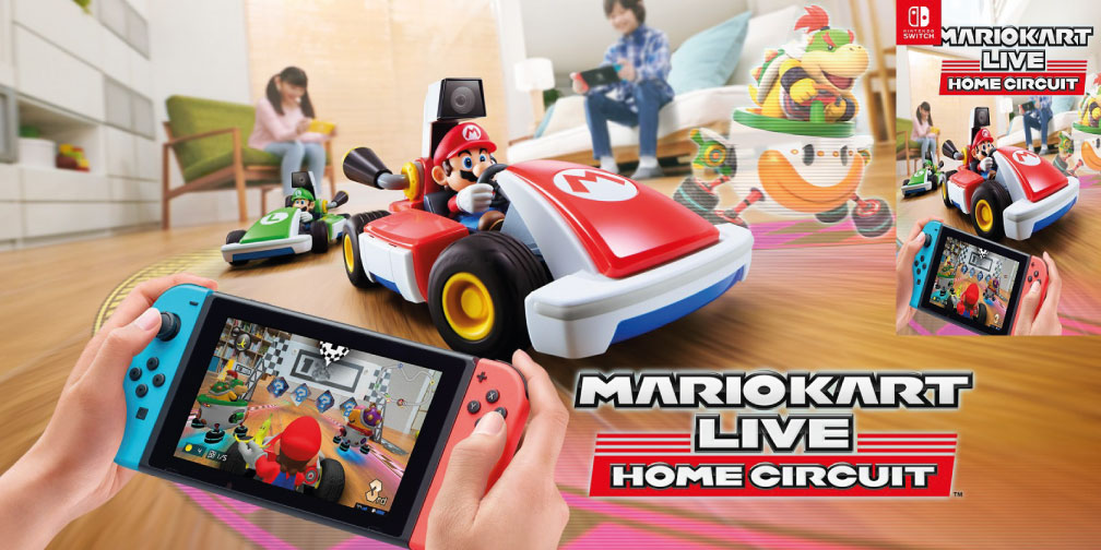 MARIO KART LIVE HOME CIRCUIT SWITCH ROM 🎮