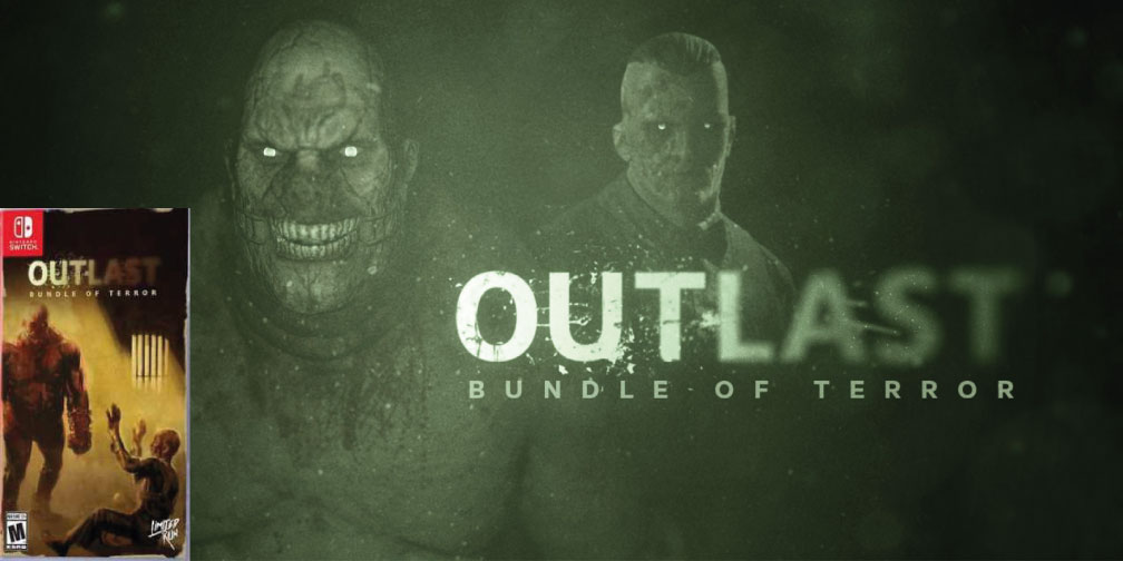OUTLAST BUNDLE OF TERROR SWITCH ROM 🎮