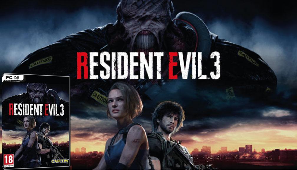 RESIDENT EVIL 3 PC 2020