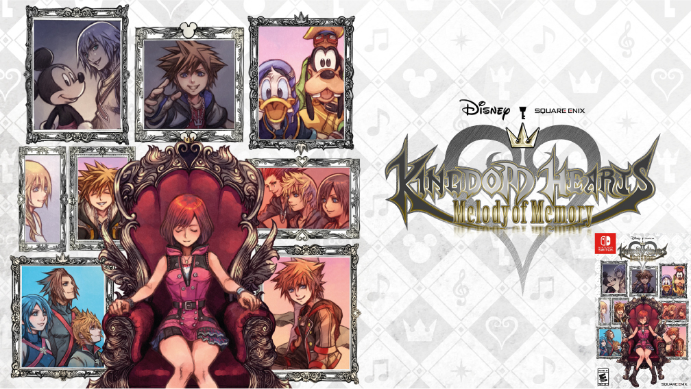 KINGDOM HEARTS MELODY OF MEMORY SWITCH ROM 🎮