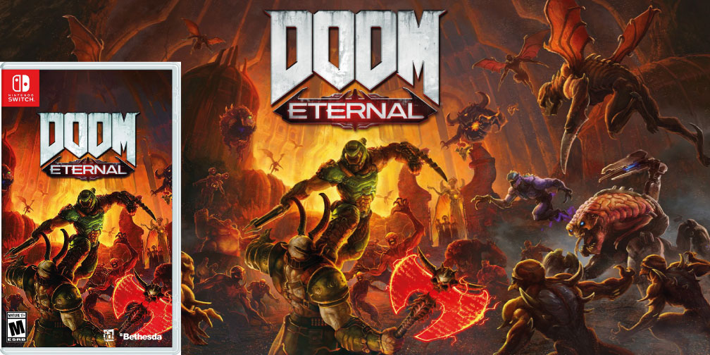 DOOM ETERNAL NINTENDO SWITCH ROM 🎮