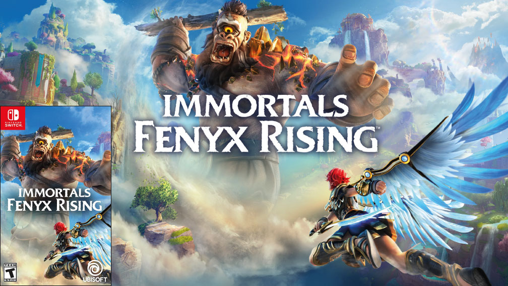 IMMORTALS FENYX RISING SWITCH ROM 🎮