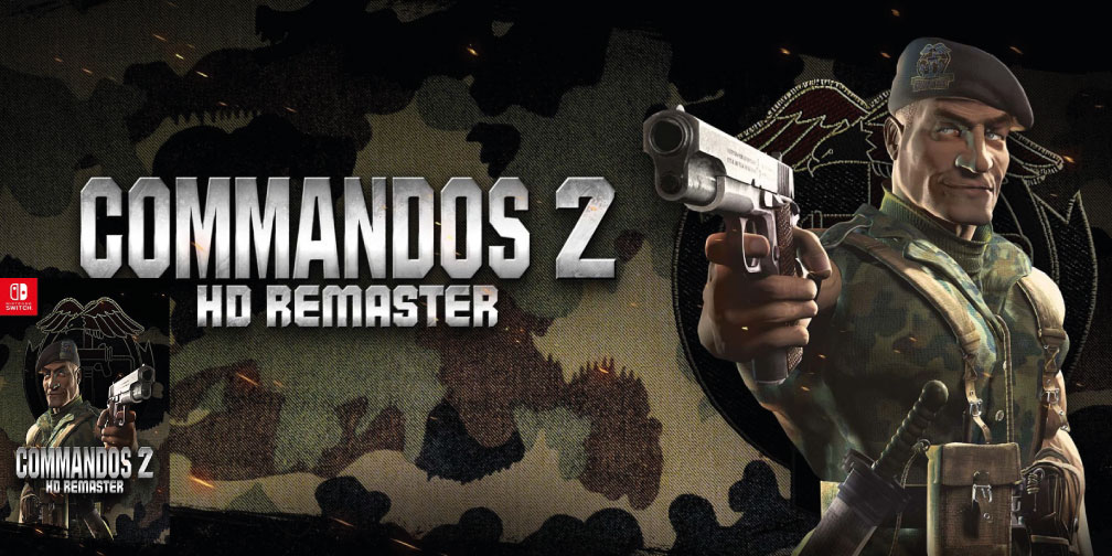 COMMANDOS 2 HD REMASTER SWITCH ROM 🎮