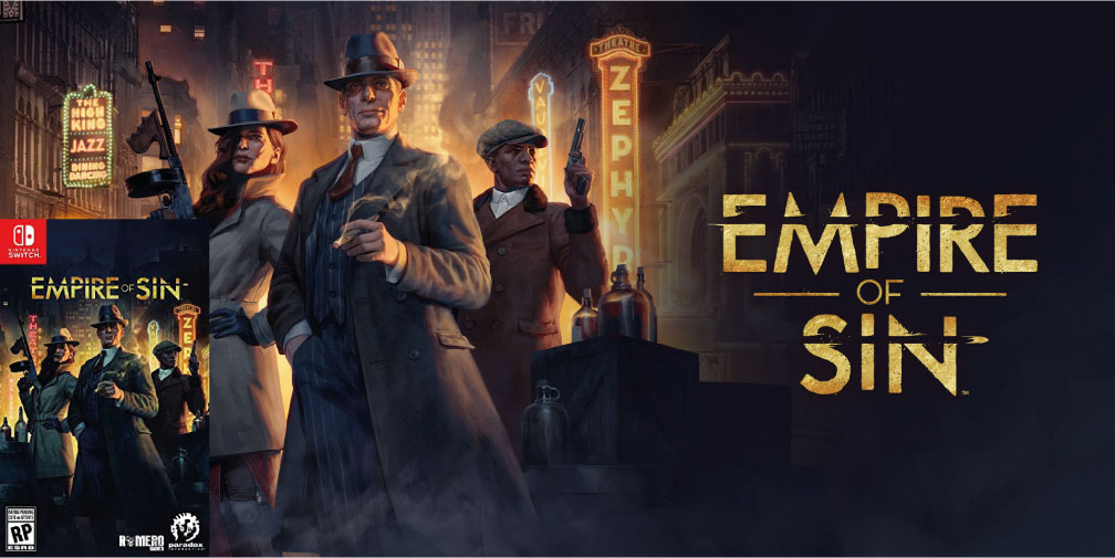 EMPIRE OF SIN NINTENDO SWITCH ROM 🎮