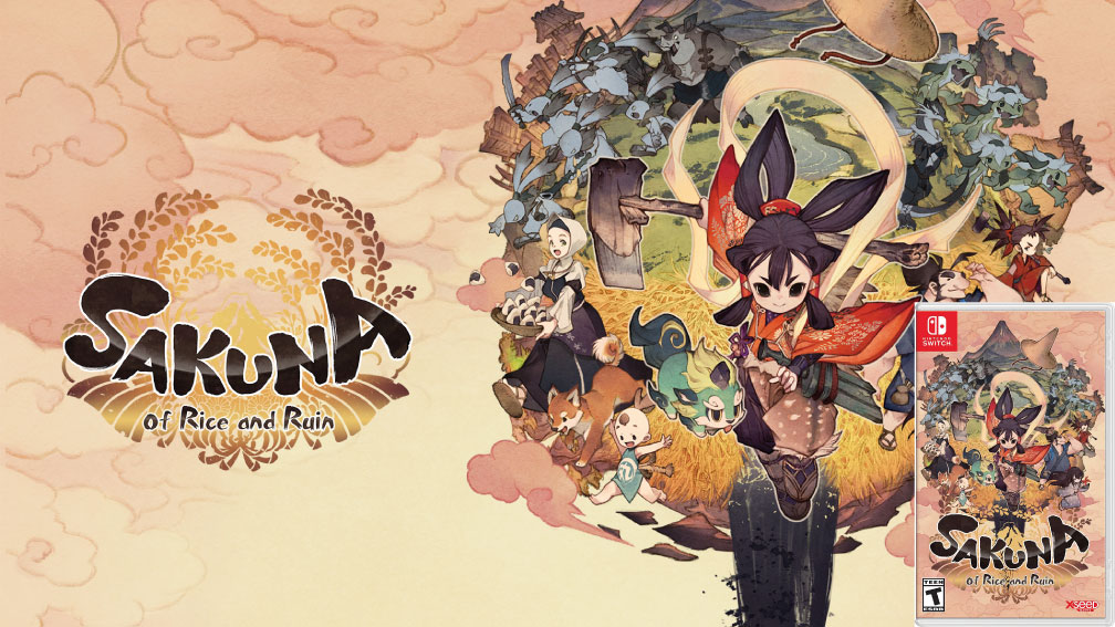 SAKUNA OF RICE AND RUIN NINTENDO SWITCH ROM 🎮