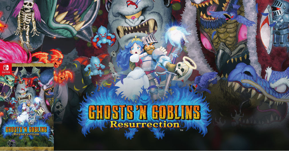 GHOST N GOBLINS RESURRECTION SWITCH ROM 🎮
