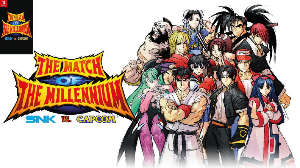 SNK VS CAPCOM MATCH OF THE MILLENIUM SWITCH ROM 🎮
