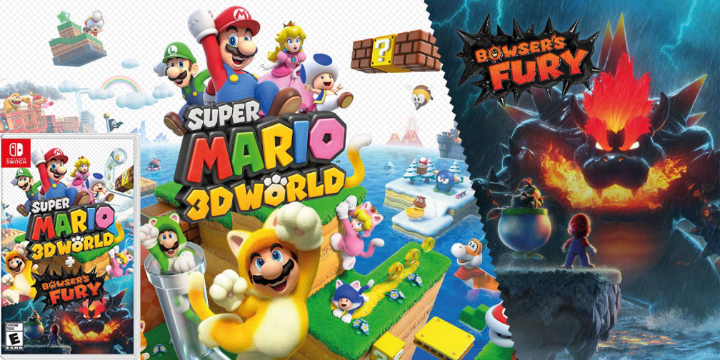 SUPER MARIO 3D WORLD BOWSERS FURY SWITCH ROM 🎮