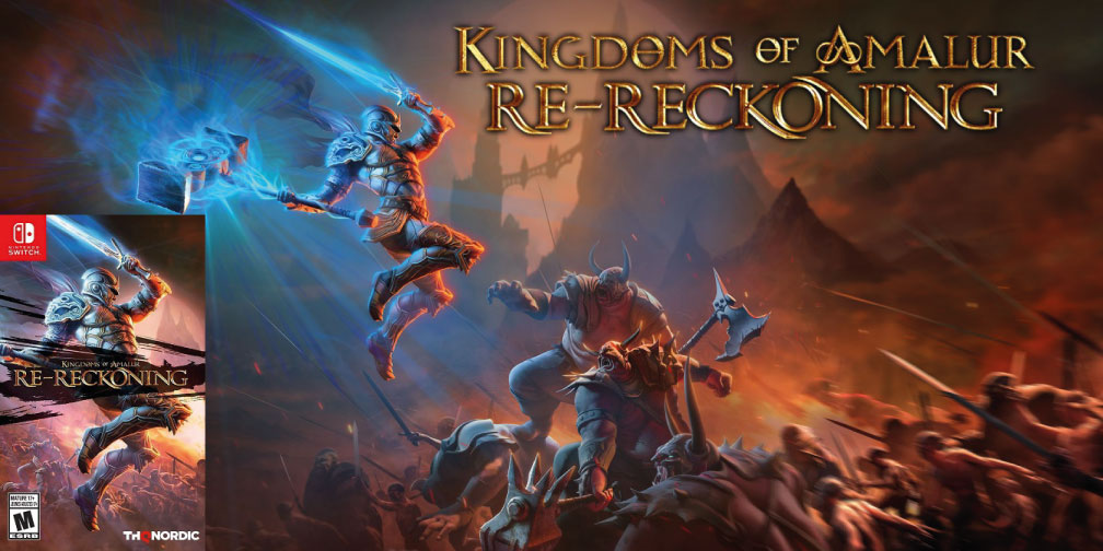 KINGDOMS OF AMALURS RECKONING SWITCH ROM 🎮