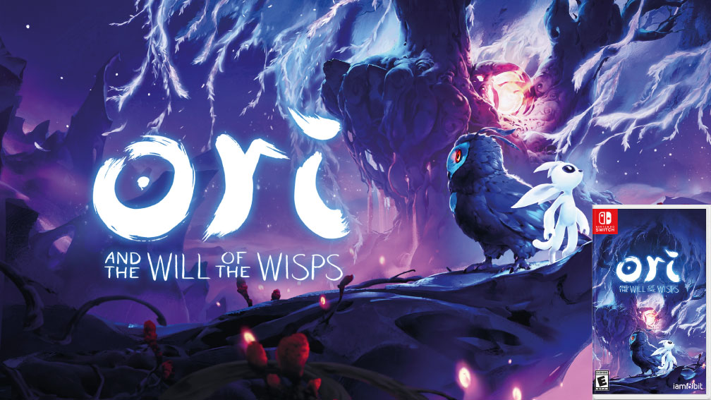 ORI AND THE WILL OF THE WISPS SWITCH ROM 🎮