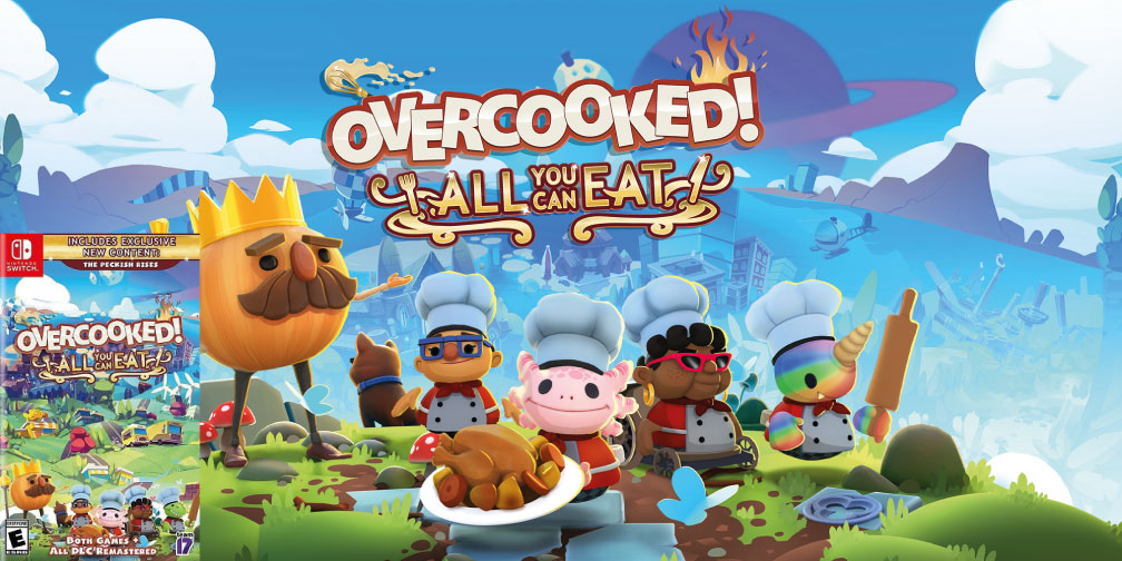 OVERCOOKED ALL YOU CAN EAT SWITCH ROM 🎮