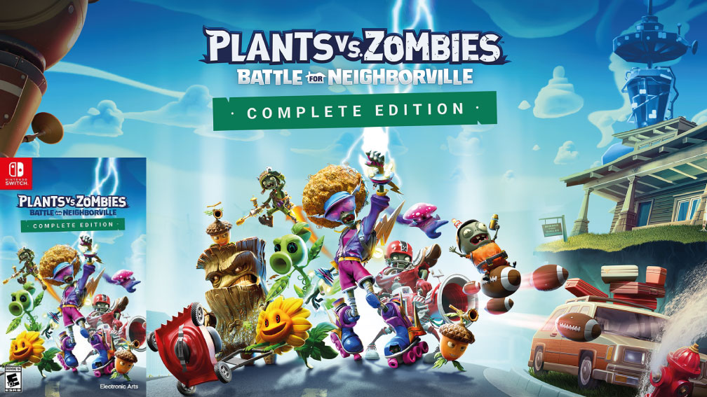PLANTAS VS ZOMBIES LA BATALLA DE NEIGHBORVILLE SWITCH ROM 🎮