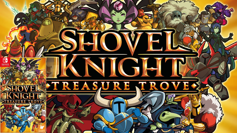 SHOVEL KNIGHT TREASURE TROVE SWITCH ROM 🎮