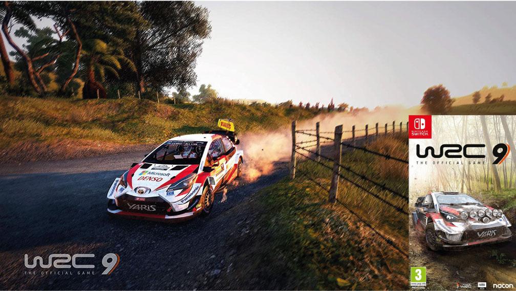WRC 9 SWITCH ROM 🎮