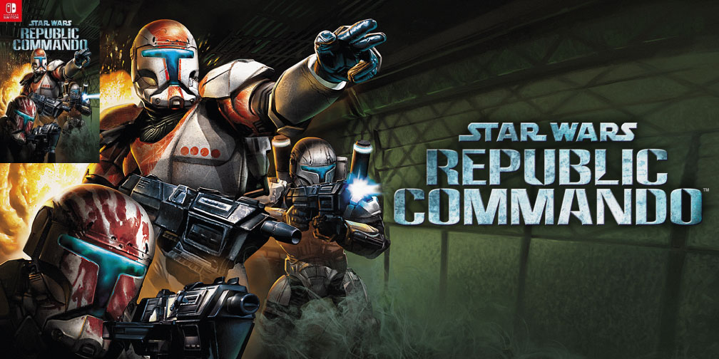 STAR WARS REPUBLIC COMMANDO SWITCH ROM 🎮