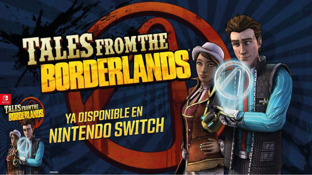 TALES FROM THE BORDERLANDS SWITCH