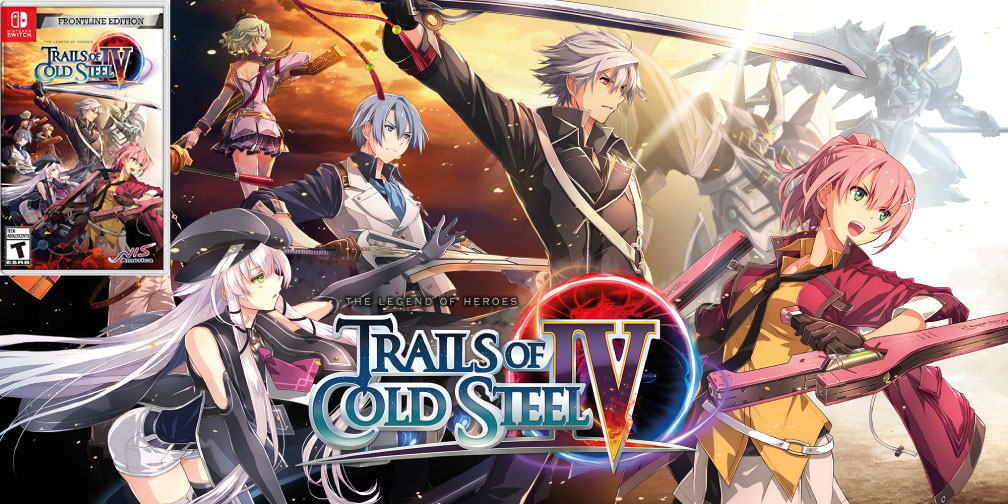THE LEGEND OF HEROES TRAILS OF COLD STEEL 4 SWITCH