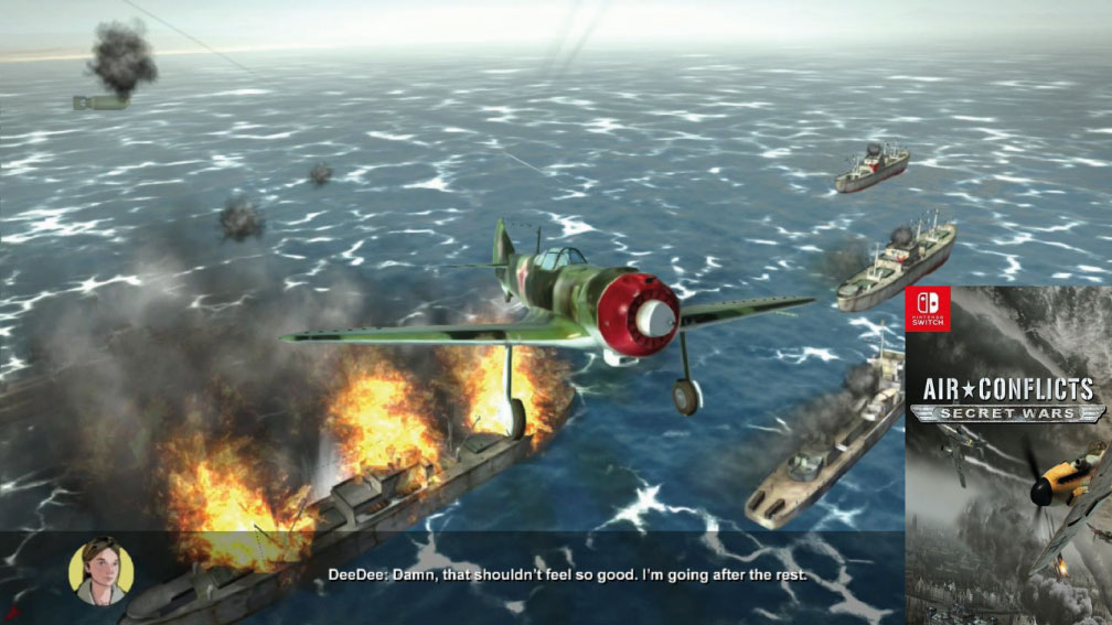 AIR CONFLICTS SECRET WARS SWITCH ROM 🎮