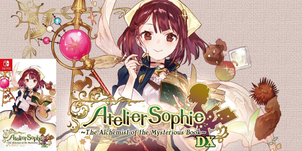 ATELIER SOPHIE THE ALCHEMIST OF THE MYSTERIOUS BOOK SWITCH