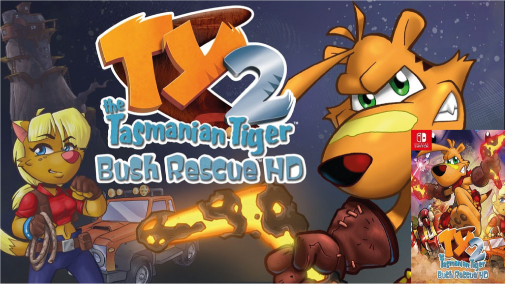 TY THE TASMANIAN TIGER 2 SWITCH