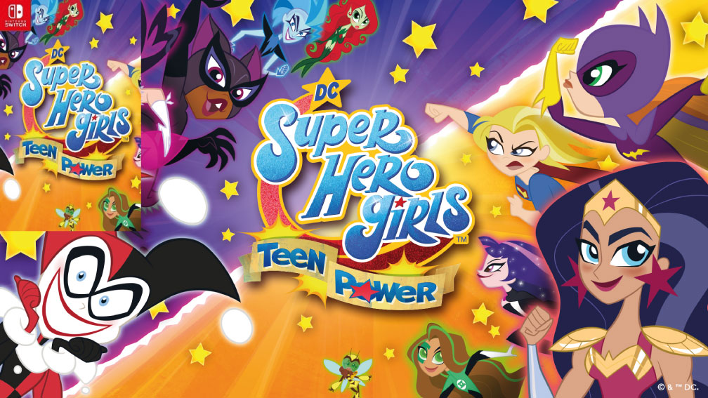 DC SUPER HERO GIRLS TEEN POWER SWITCH
