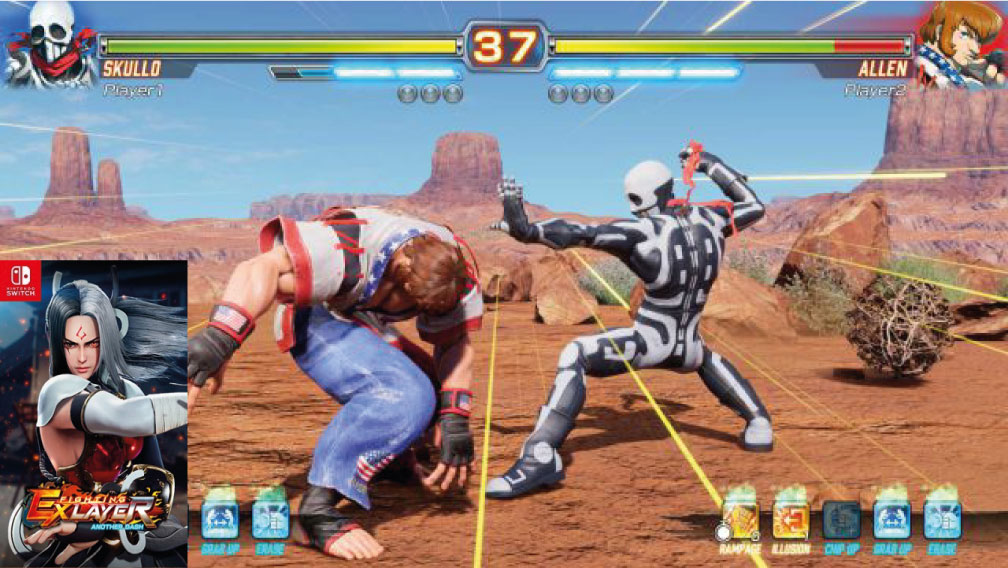 Fighting Ex Layer Another Dash switch