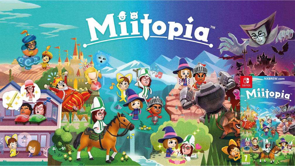 MIITOPIA SWITCH ROM 🎮