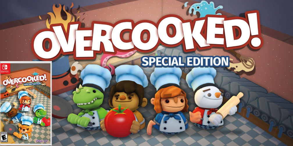 OVERCOOKED SPECIAL EDITION SWITCH