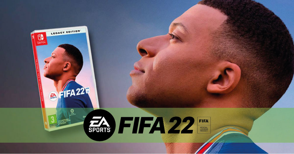 FIFA 22 LEGACY EDITION SWITCH ROM 🎮