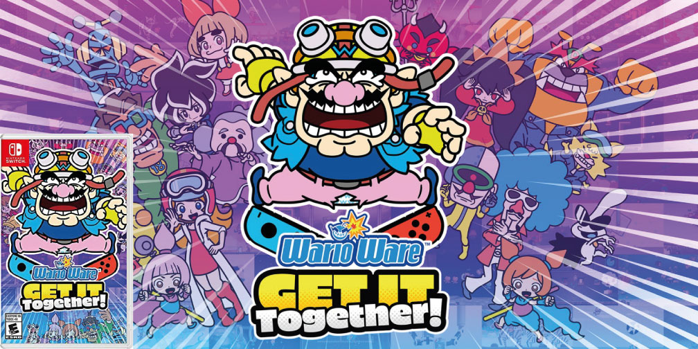 WARIOWARE GET IT TOGETHER SWITCH ROM 🎮