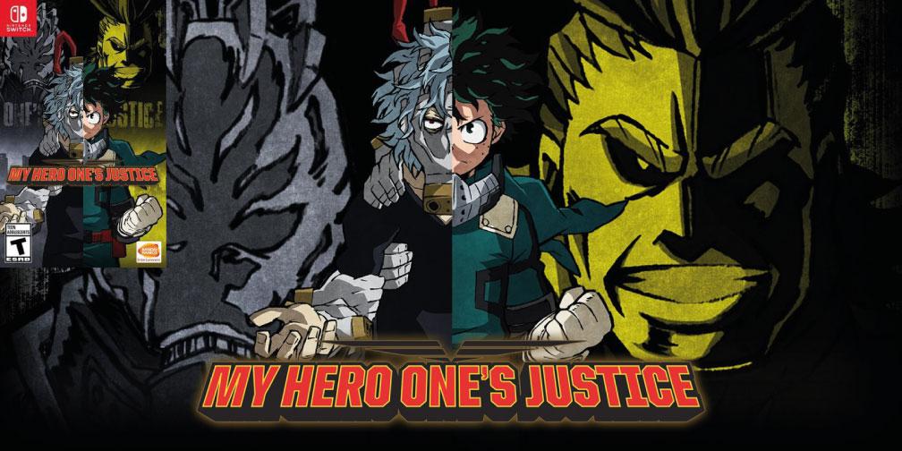 MY HERO ONES JUSTICE SWITCH