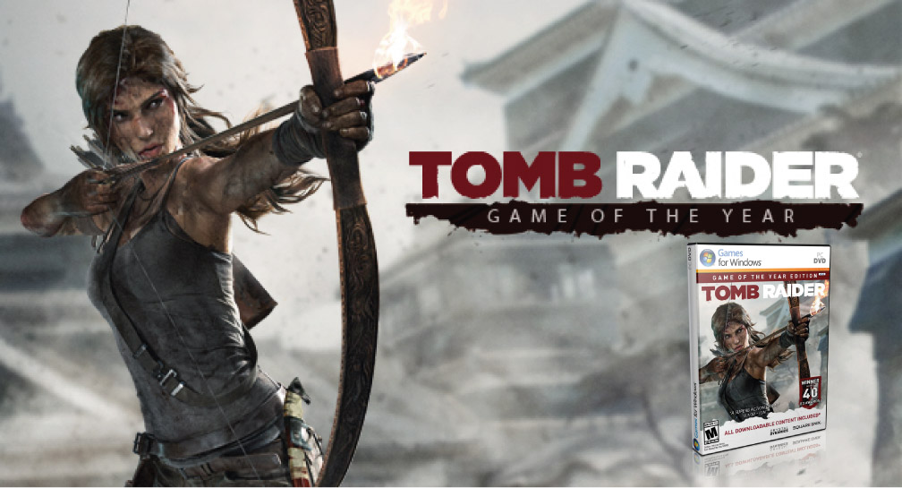 TOMB RAIDER GAME OF THE YEAR EDITION PC