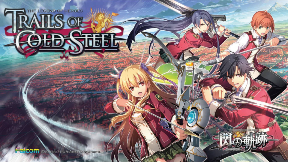THE LEGEND OF HEROES TRAILS OF COLD STEEL PC TORRENT 🎮