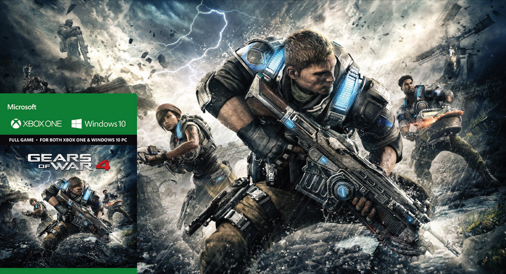 GEARS OF WAR 4 PC TORRENT DESCARGA 🎮