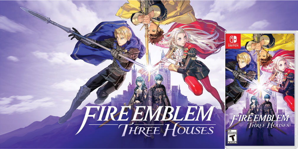 FIRE EMBLEM THREE HOUSES 🎮 ROM SWITCH MEGA – TORRENT