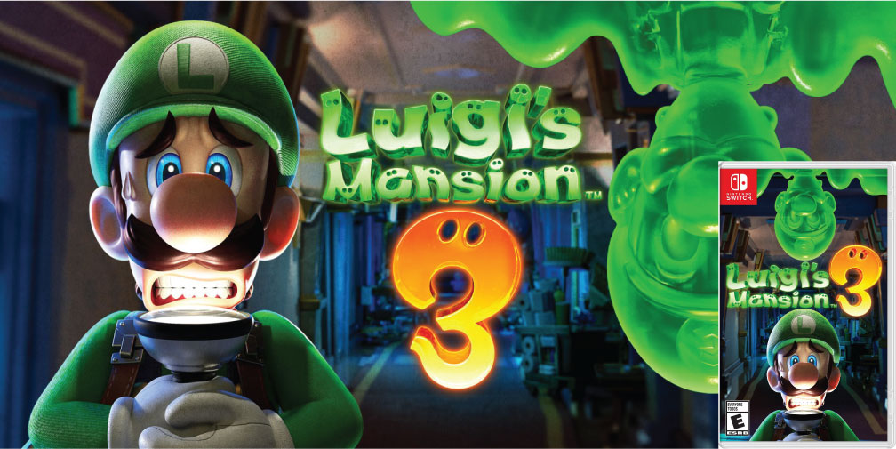 LUIGI'S MANSION 3 🎮 SWITCH ROM