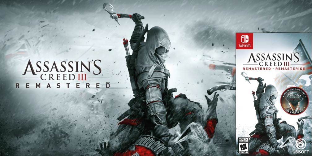 ASSASSINS CREED 3 REMASTERED 🎮 SWITCH ROM NSP – XCI