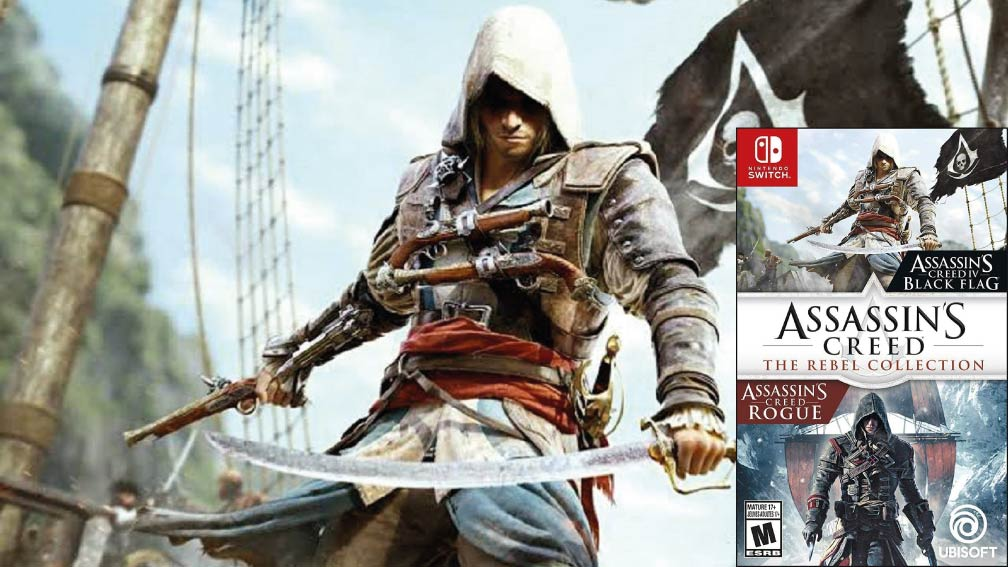 ASSASSINS CREED THE REBEL COLLECTION 🎮 ROM SWITCH NSP