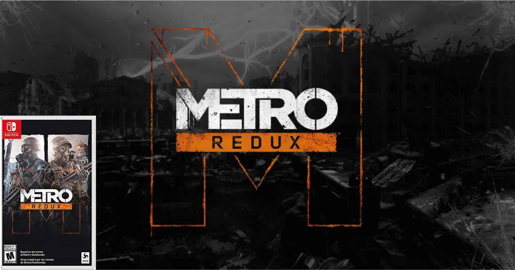 METRO REDUX 🎮 SWITCH ROM NSP – XCI