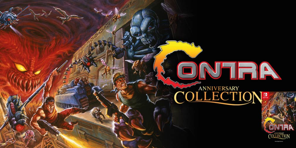 CONTRA ANNIVERSARY COLLECTION 🎮 SWITCH ROM NSP