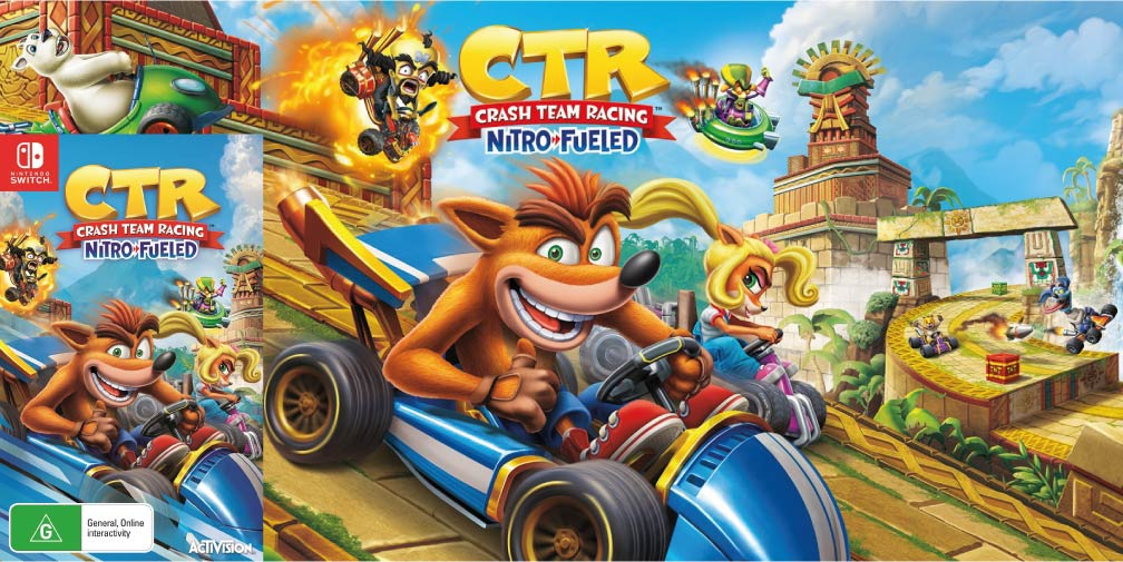 CRASH TEAM RACING NITRO FUELED 🎮 SWITCH ROM NSP
