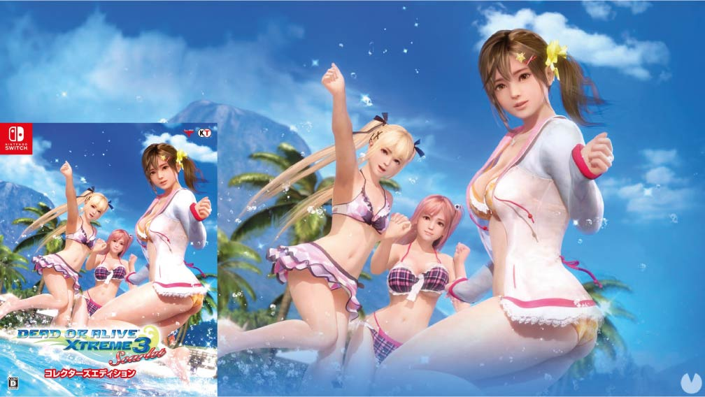 DEAD OR ALIVE XTREME 3 SCARLET 🎮 SWITCH ROM NSP