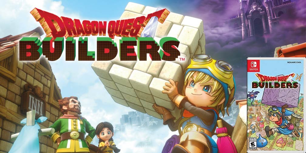 DRAGON QUEST BUILDERS 🎮 SWITCH ROM NSP