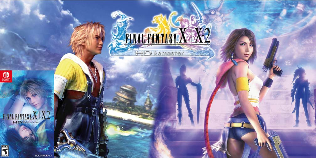 FINAL FANTASY X X-2 HD REMASTER 🎮 SWITCH ROM NSP