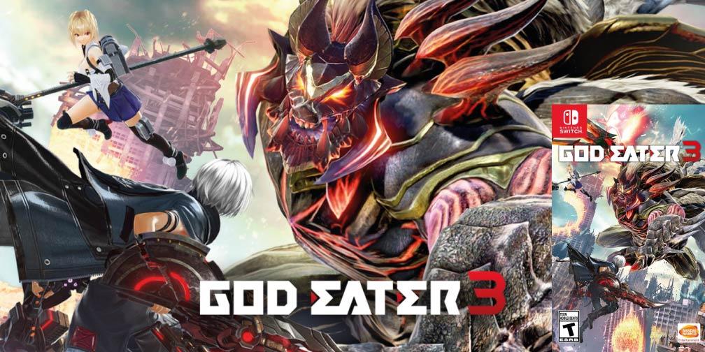 GOD EATER 3 🎮 NINTENDO SWITCH ROM NSP