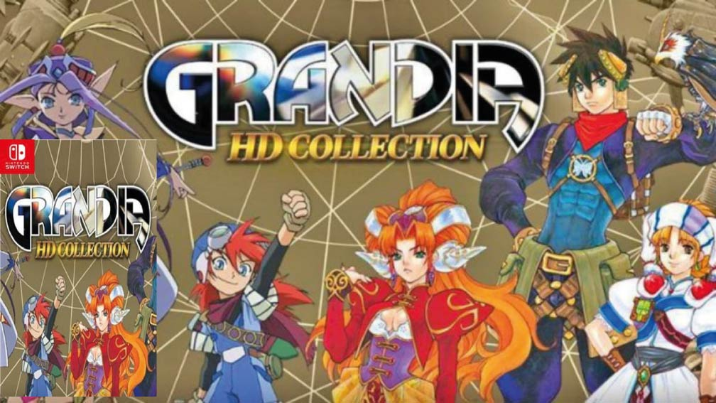 GRANDIA HD COLLECTION 🎮 SWITCH ROM NSP