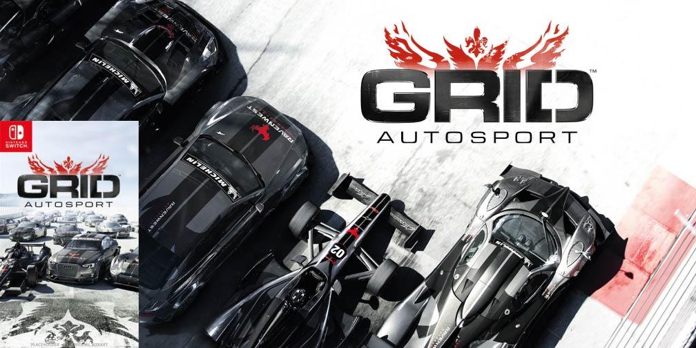 GRID AUTOSPORT 🎮 SWITCH ROM NSP
