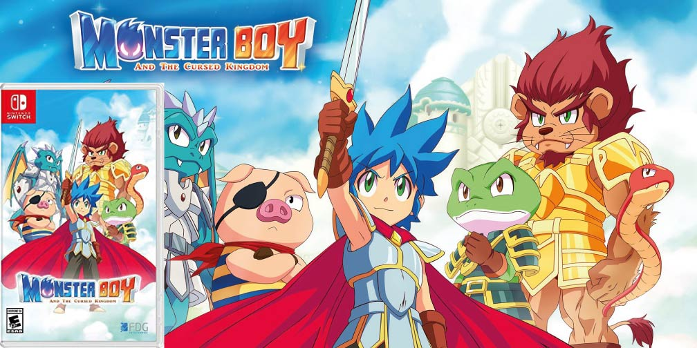 MONSTER BOY AND THE CURSED KINGDOM 🎮 SWITCH ROM NSP
