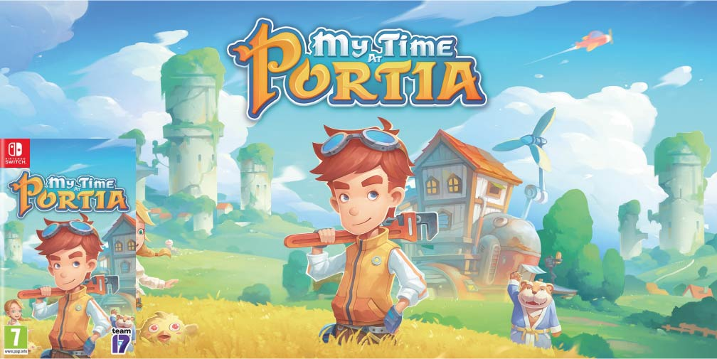 MY TIME AT PORTIA 🎮 SWITCH ROM NSP