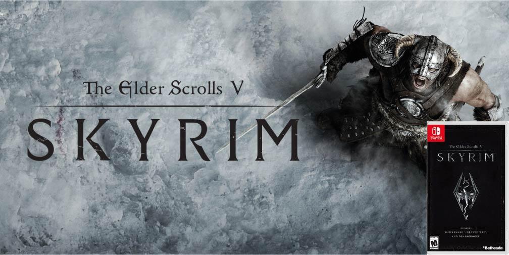 THE ELDER SCROLLS V SKYRIM 🎮 SWITCH ROM NSP